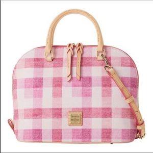 NEW Dooney & Bourke Pink Satchel